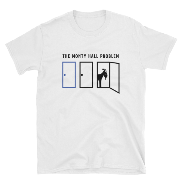 51e5a2f80 ... math t shirt monty hall problem shirt puzzle shirt teacher t ...